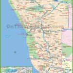 Large Detailed Map Of Namibia   Printable Road Map Of Namibia
