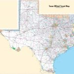 Large Detailed Map Of Texas With Cities And Towns – Free Texas Highway Map