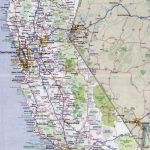 Large Detailed Road And Highways Map Of California State With All - Highway One California Map