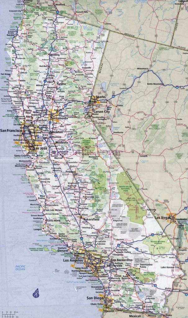 Highway One California Map