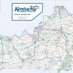 Large Detailed Road Map Of Kentucky   Printable Map Of Kentucky Counties