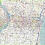 Large Detailed Street Map Of Philadelphia - Printable Map Of Center City Philadelphia