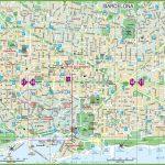 Large Detailed Tourist Street Map Of Barcelona   Barcelona City Map Printable