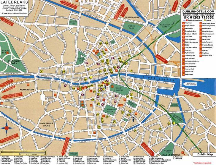 Printable Map Of Dublin
