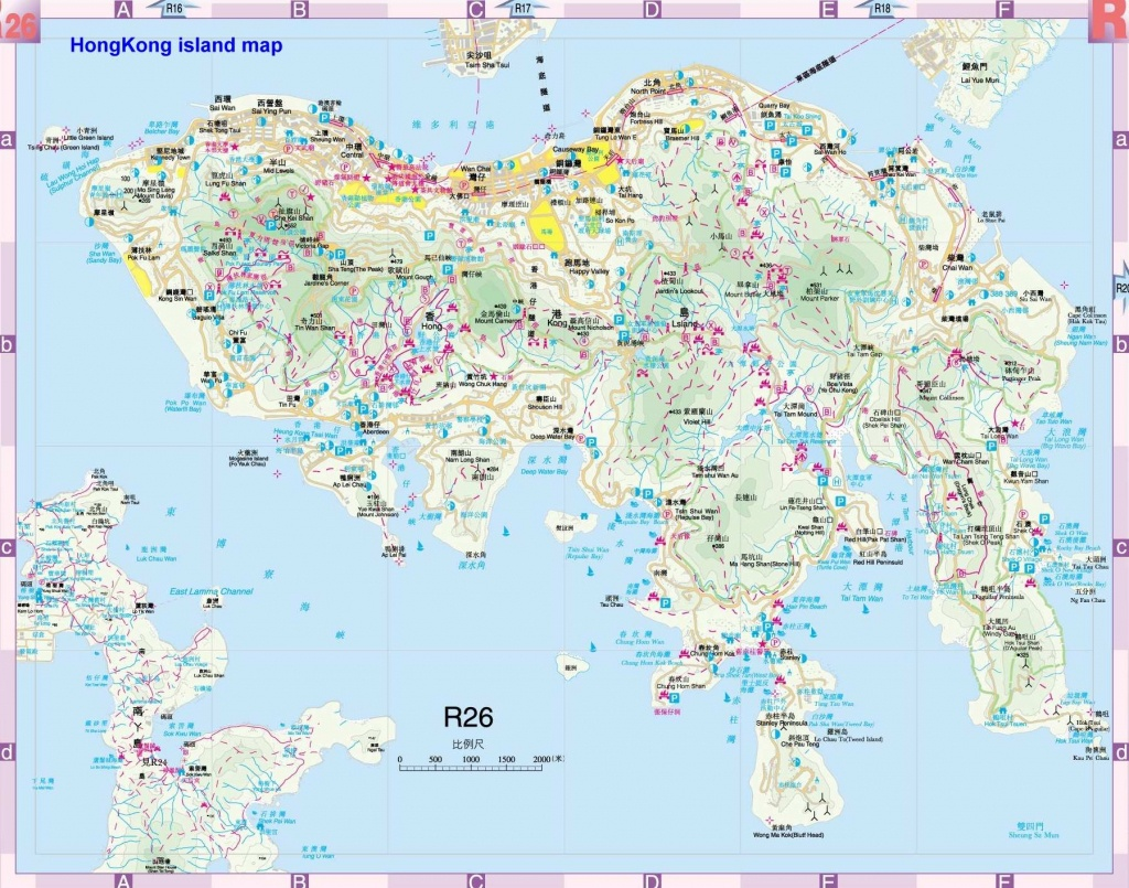 Large Hong Kong City Maps For Free Download And Print | High - Hong Kong Tourist Map Printable