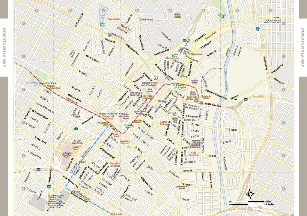 Large Los Angeles Maps For Free Download And Print   High-Resolution - Los Angeles Freeway Map Printable