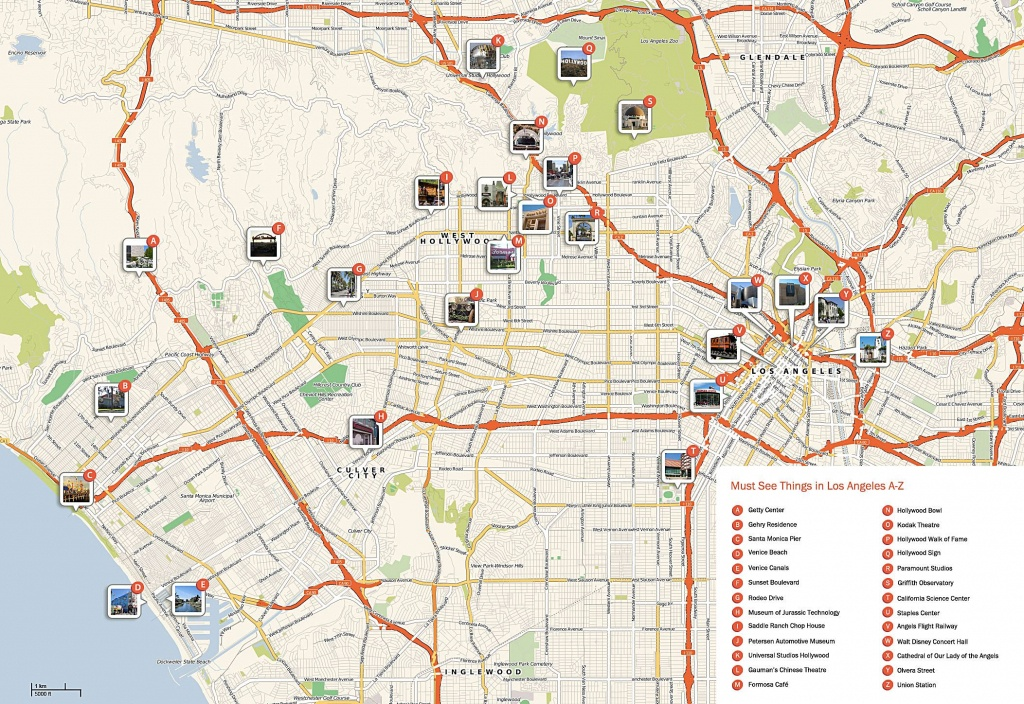 Large Los Angeles Maps For Free Download And Print | High-Resolution - Los Angeles Zip Code Map Printable