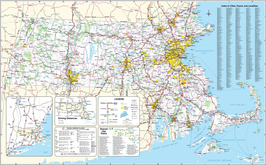 Large Massachusetts Maps For Free Download And Print | High - Large Printable Maps