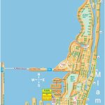 Large Miami Beach Maps For Free Download | High Resolution And   Map Of Miami Beach Florida Hotels