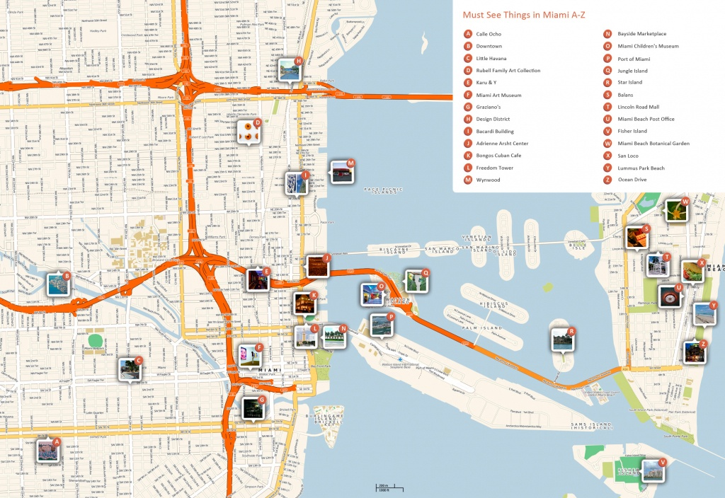 Large Miami Maps For Free Download And Print | High-Resolution And - Map Of Miami Beach Florida Hotels