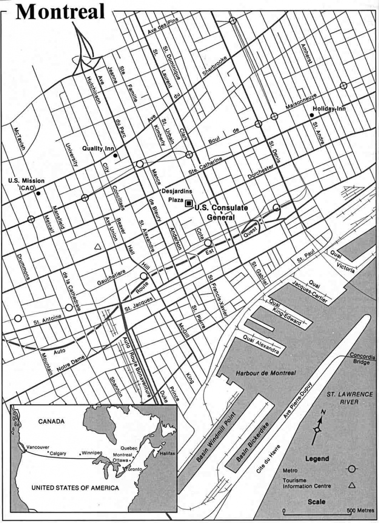 Large Montreal Maps For Free Download And Print | High-Resolution - Printable Map Of Montreal