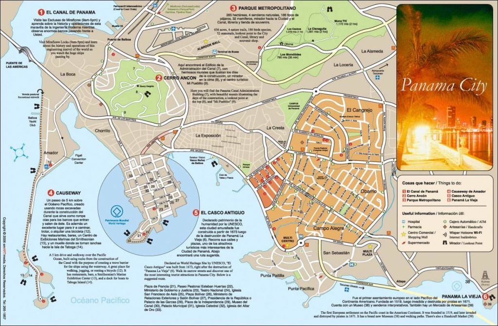 Large Panama City Maps For Free Download And Print   High-Resolution - Street Map Panama City Florida