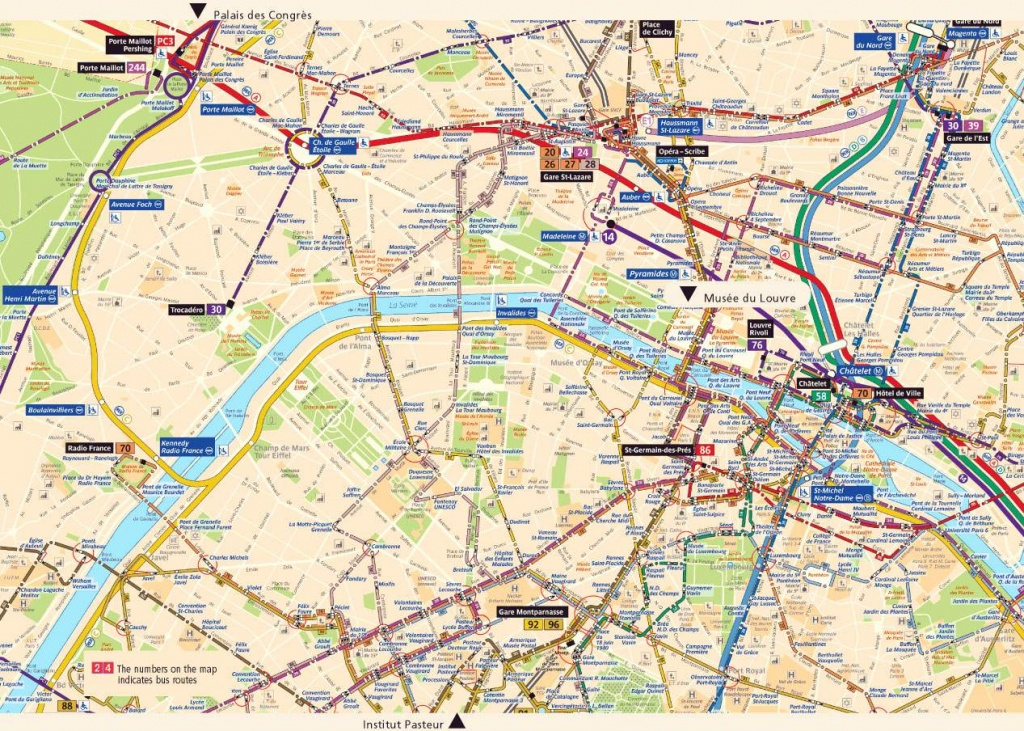 Large Paris Maps For Free Download And Print | High-Resolution And - Printable Map Of Paris City Centre