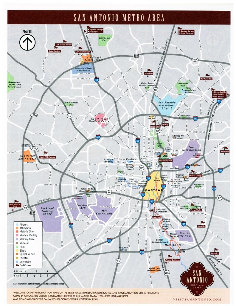Large San Antonio Maps For Free Download And Print | High-Resolution - San Antonio Zip Code Map Printable