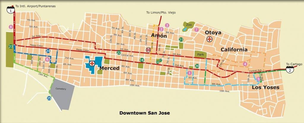 Large San Jose Maps For Free Download And Print | High-Resolution - Printable Map Of San Jose