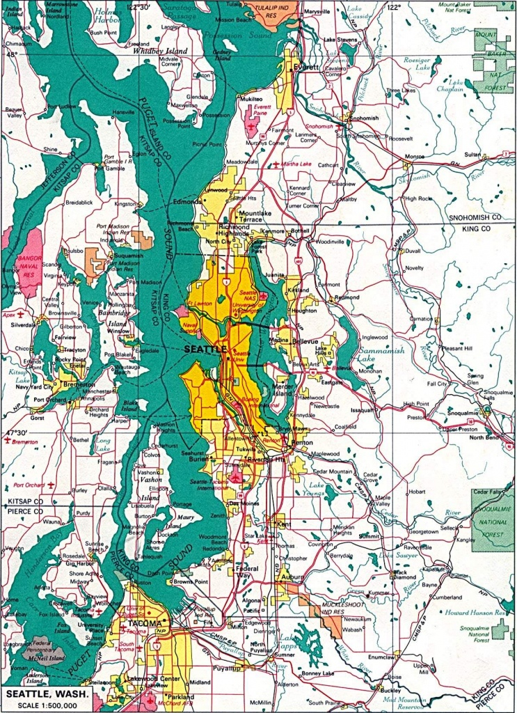 Large Seattle Maps For Free Download And Print | High-Resolution And - Seattle Tourist Map Printable
