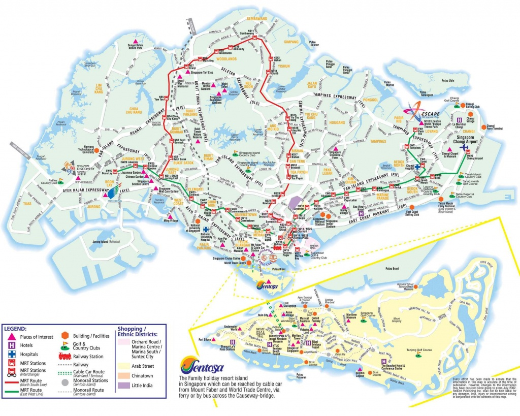 Large Singapore City Maps For Free Download And Print | High - Singapore Mrt Map Printable