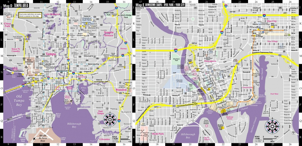 Large Tampa Maps For Free Download And Print   High-Resolution And - Map Of Hotels In Tampa Florida