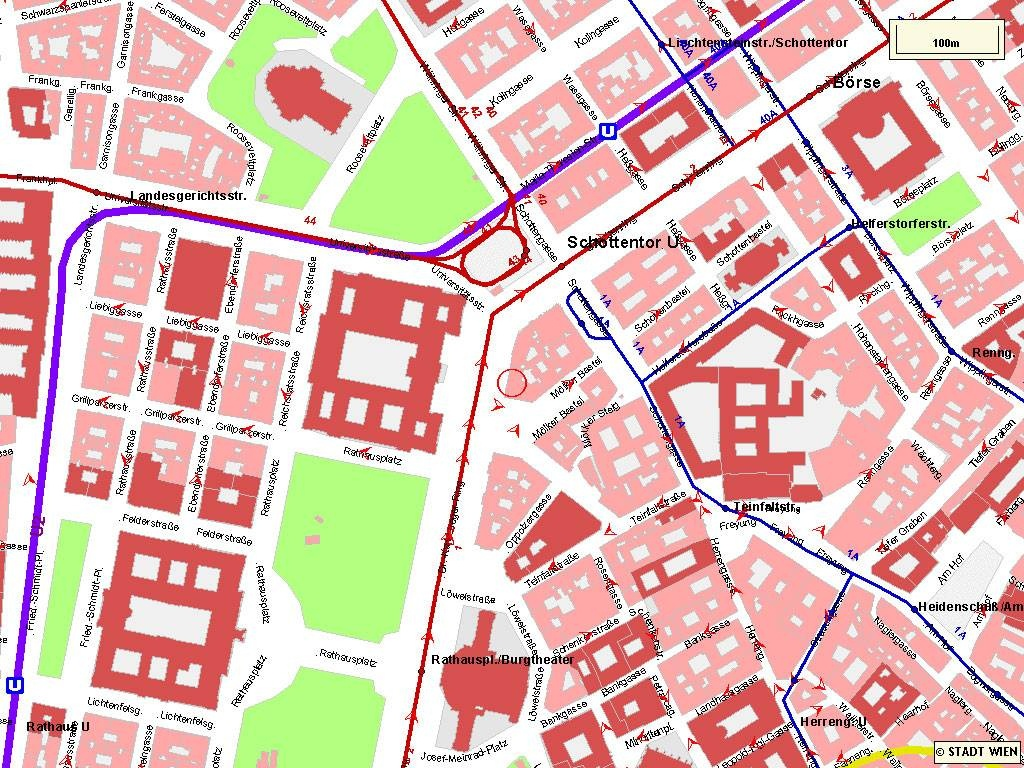 Large Vienna Maps For Free Download And Print | High-Resolution And - Printable Tourist Map Of Vienna