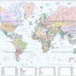 Large World Map Image - Free Printable Large World Map Poster