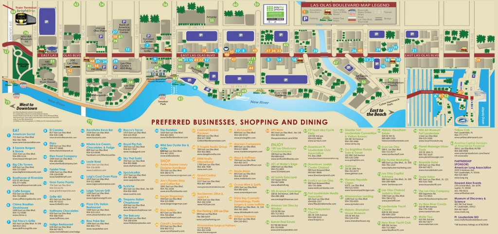 Las Olas Boulevard Fort Lauderdale | Restaurants, Shops & Things To Do - Map Of Hotels In Fort Lauderdale Florida