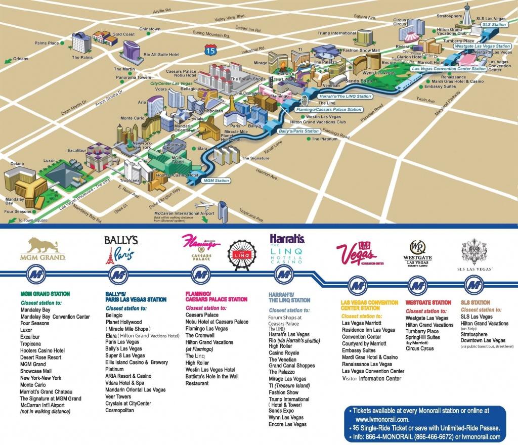 Las Vegas Strip Hotels And Casinos Map   Las Vegas In 2019   Las - Printable Las Vegas Strip Map 2017