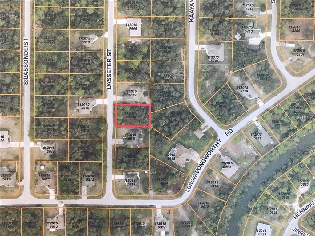 Lasseter Street, North Port, Fl 34288 (Mls #a4411209) :: American Realty - North Port Florida Street Map
