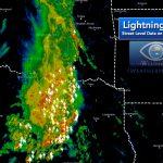 Latest Lightning Strikes On Google Maps – Iweathernet - Lightning Map California