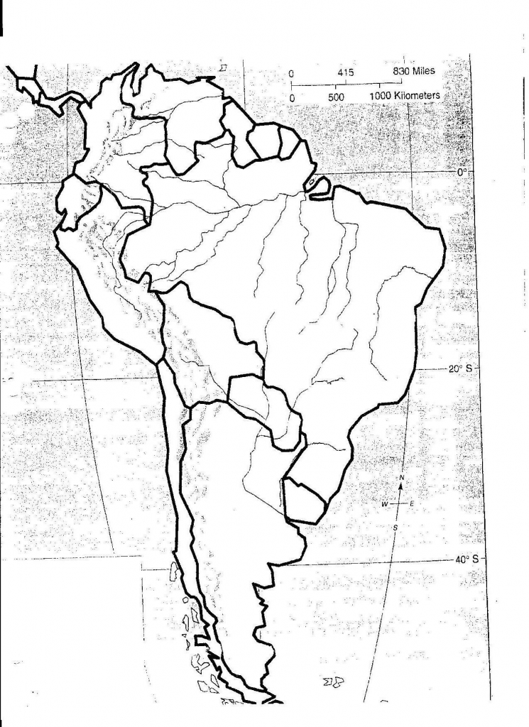 Latin America Physical Feature Map Sample Pdf Us Features Quiz Game - South America Physical Map Printable