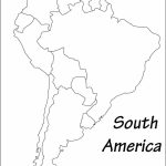Latin America Printable Blank Map South Brazil Maps Of Within And   Printable Map Of Brazil