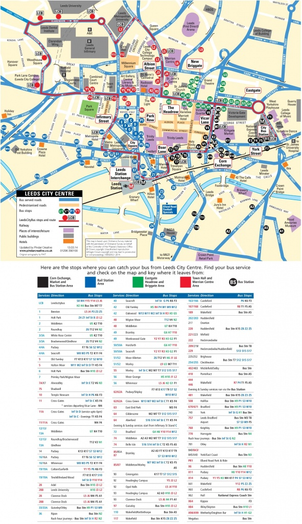 Leeds City Center Map - Bristol City Centre Map Printable