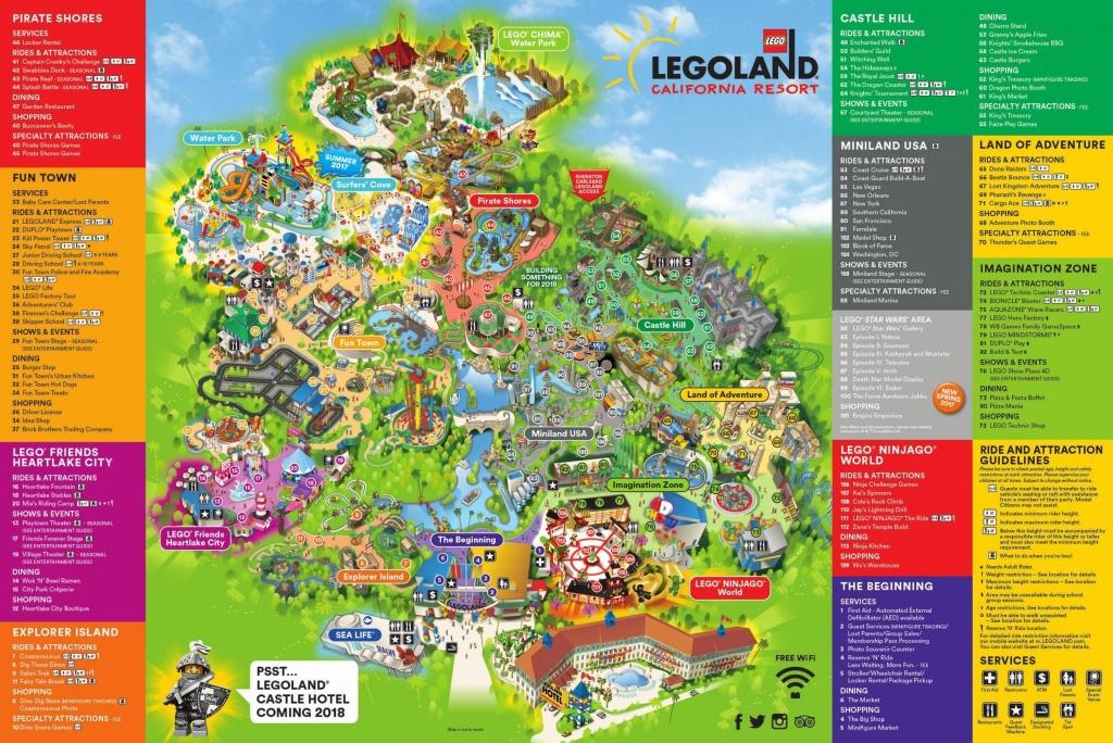 Legoland California Map San Diego – Map Of Usa District - Legoland California Water Park Map