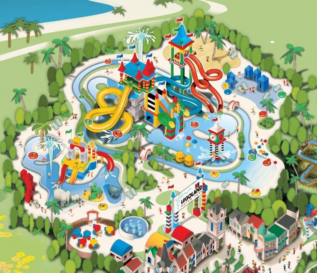 Legoland California - Waterpark   Sun Diego   Legoland California - Legoland California Water Park Map