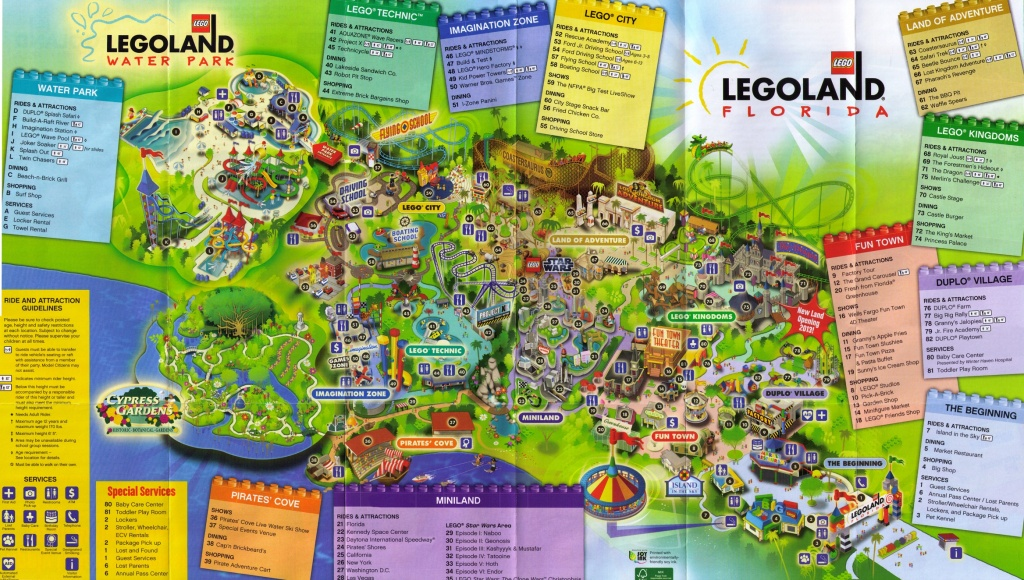 Legoland Florida Map | States Maps - Legoland Florida Park Map