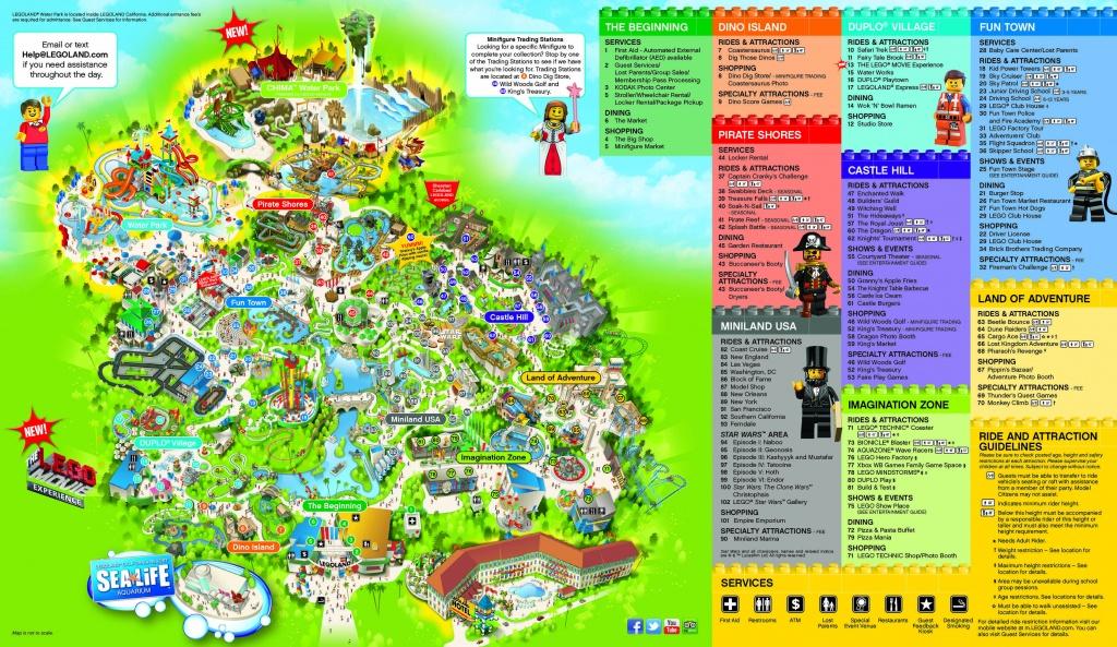 Legoland Hotel Resource Page - Legoland   Carlsbad, California - Legoland California Map