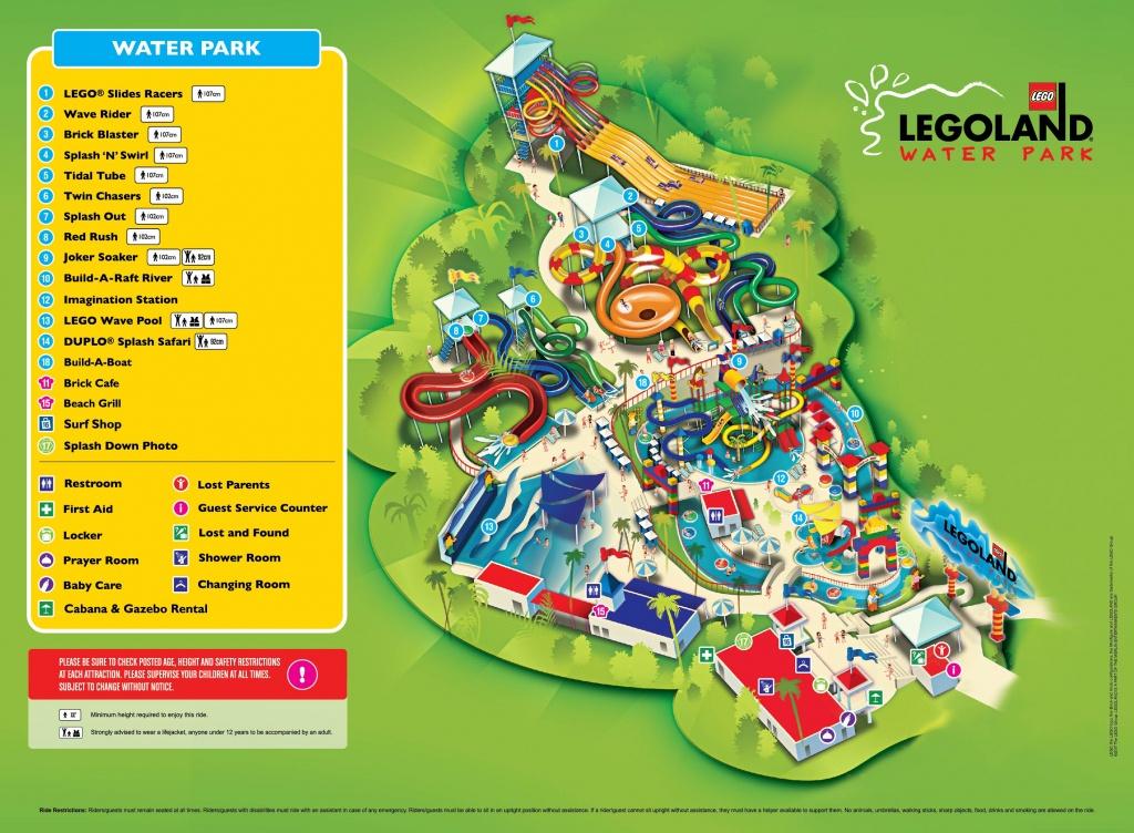 Legoland® Water Park   Legoland® Malaysia Resort - Legoland California Water Park Map