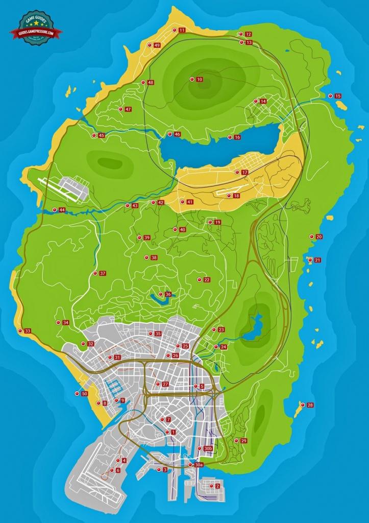 Letter Scraps - Grand Theft Auto V Game Guide | Gamepressure - Gta 5 Map Printable