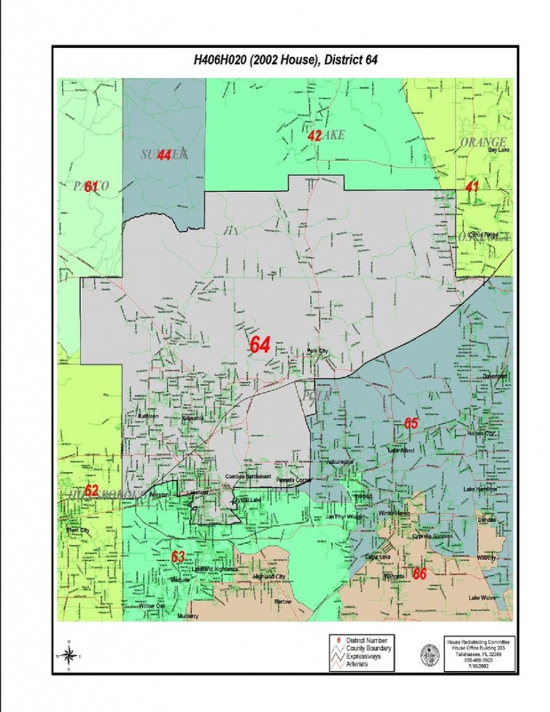 Linda Ivell - Florida House District 64 Map