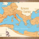 Link Library   Roman Empire Map For Kids Printable Map
