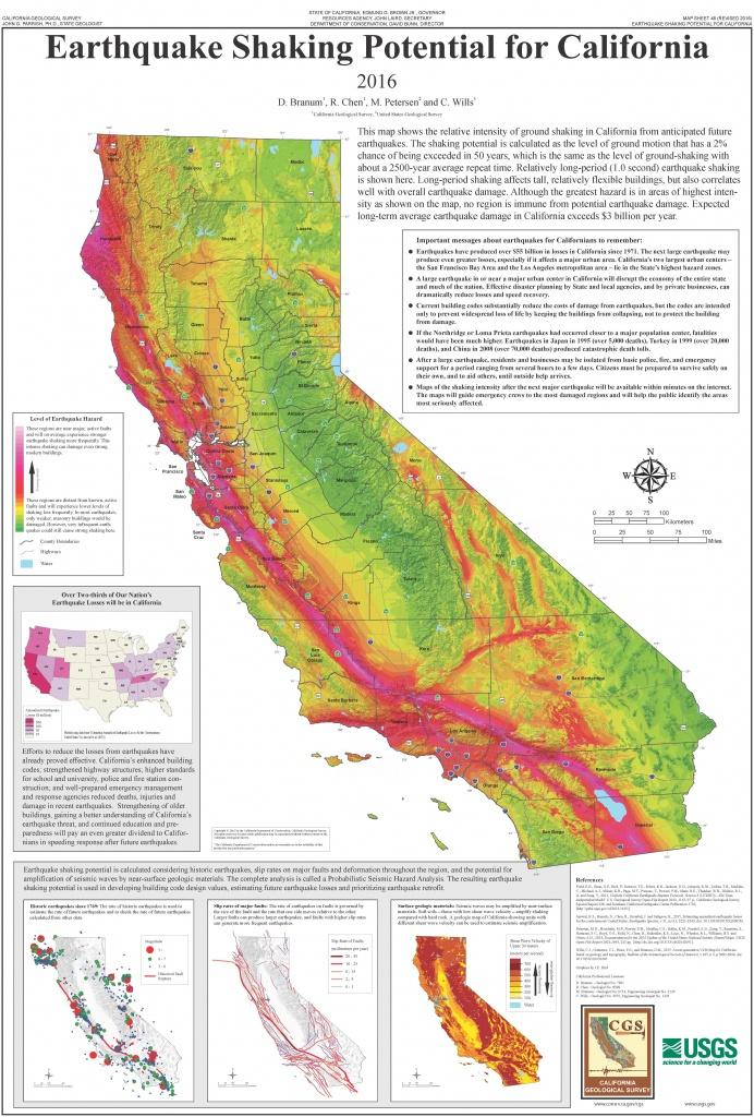 List Of Earthquakes In California - Wikipedia - Earthquake California Index Map