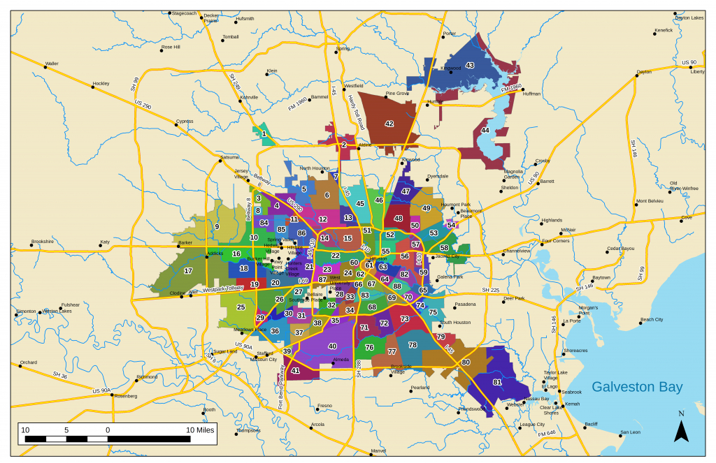 List Of Houston Neighborhoods - Wikipedia - Map Of Subdivisions In Magnolia Texas
