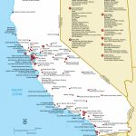 List Of National Historic Landmarks In California   Wikipedia   Southern California National Parks Map