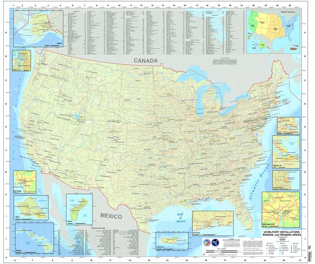 Liste Des Bases Militaires Des États-Unis — Wikipédia - Florida Navy Bases Map