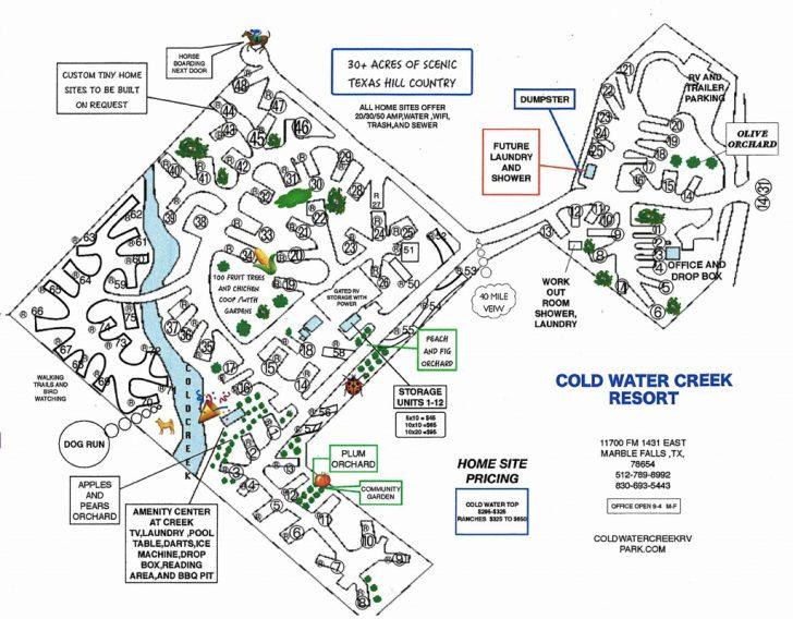 Texas Rv Parks Map