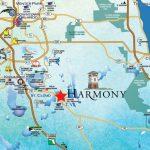 Location - Harmony, Fl - Harmony Florida Map