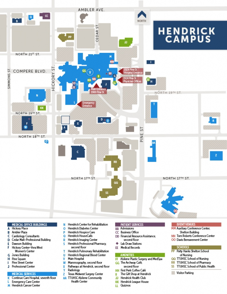 Locations And Contact | Hendrick Health System - Texas Health Dallas Map