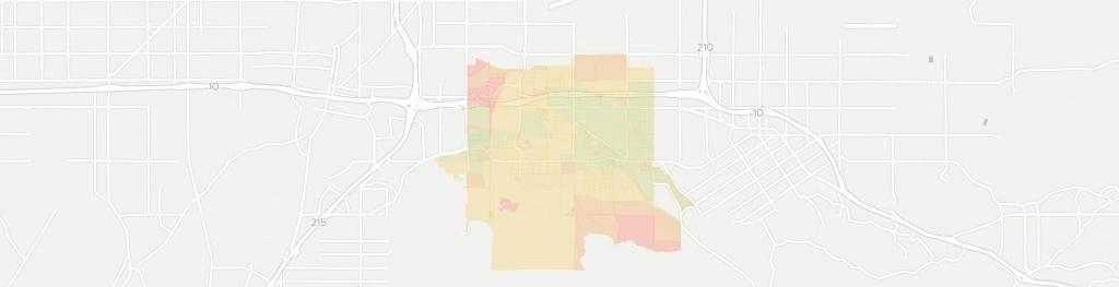 Loma Linda Has 11 Internet Service Providers | Broadbandnow - Loma Linda California Map