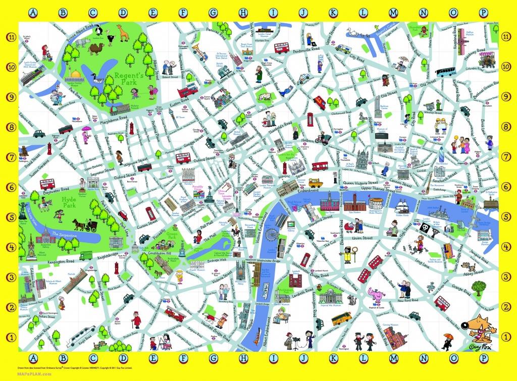 London Detailed Landmark Map | London Maps - Top Tourist Attractions - Free Printable City Street Maps