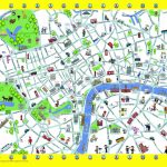 London Detailed Landmark Map | London Maps - Top Tourist Attractions - Map Of London Attractions Printable
