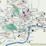 London Top Tourist Attractions Map Popular Destination Spots - Map Of London Attractions Printable